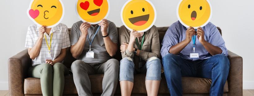 Brug af emojis i tekster